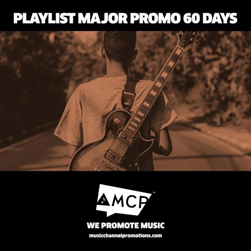Playlist Major Promo Package 60 Days - Music Promotion by MCP - Shop - Product