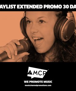 Playlist Extended Promo Package 30 Days - Music Promotion by MCP - Shop - Product