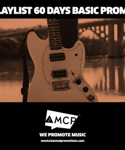 Playlist 60 Days Basic Promo Package - Music Promotion by MCP - Shop - Product