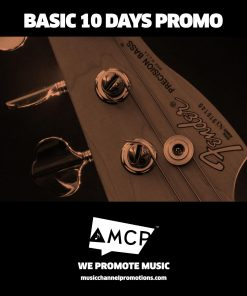 Basic 10 days Promo Package - Music Promotion by MCP - Shop - Product
