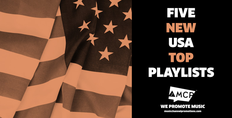 New USA Top Playlists Music Promotion By MCP