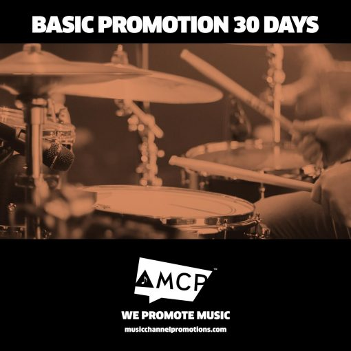 Basic Promo 30 Days - Music promotion by MCP - Shop - Product