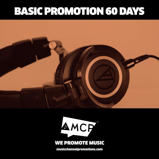 Basic 60 Days Promo Package - Music Promotion by MCP