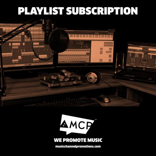 Music Promotion - Shop - Weekly Playlist Subscription