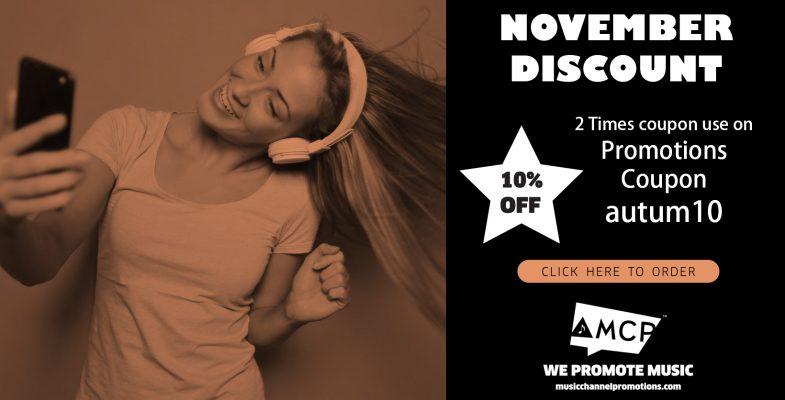 Novemver discount mcp musicchannelpromotions.com